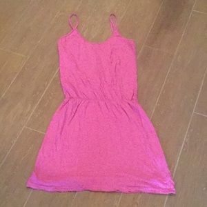 James Perse size 2 pink spaghetti strap dress
